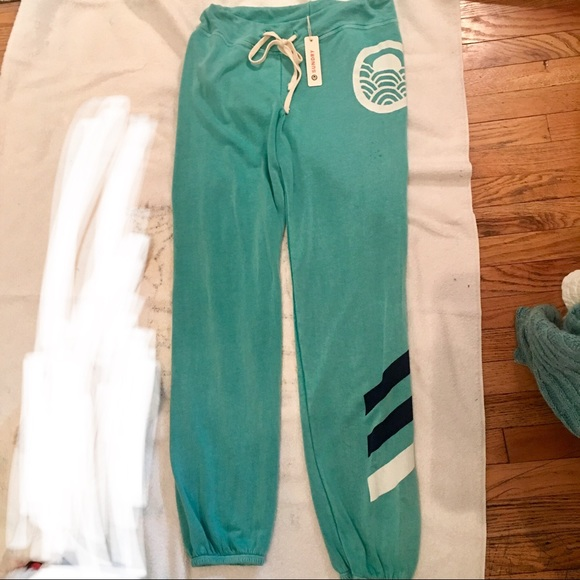 get new entire collection strong packing FLASHSALE! NWT SUNDRY TURQUOISE SWEATPANTS JOGGERS NWT